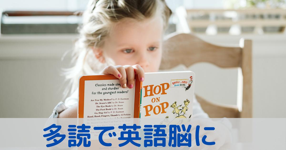 英語の多読は最高に効率よく英語脳を作る勉強法!押えるべき要点3つ
